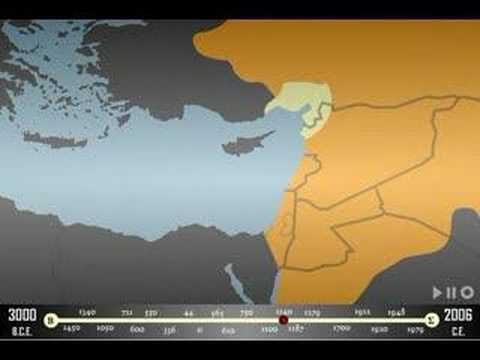 Israel map throughout history