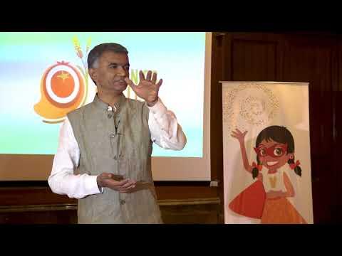 Minister Krishna Byre Gowda speaks on the Organics & Millets International Fair