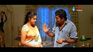 Repeat youtube video Cheppalani Vundi Scene - Prakash Raj Misbehavior With Vani - Vadde Naveen, Raasi