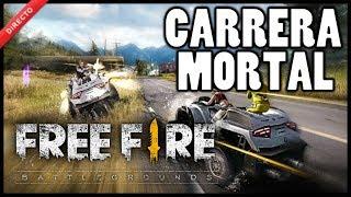 JUGANDO CARRERA MORTAL-FREE FIRE DIRECTO-Nefi 56