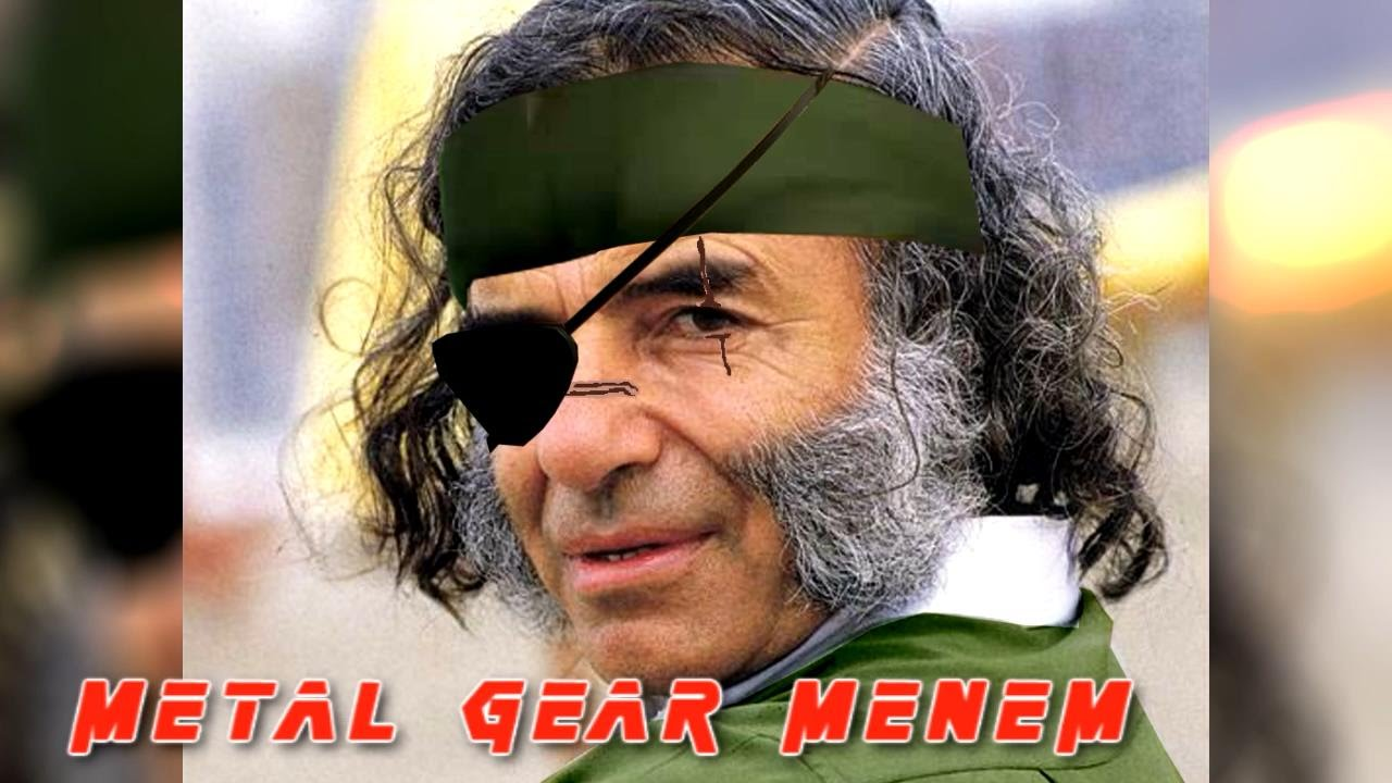 METAL GEAR MENEM | RETOUR - YouTube