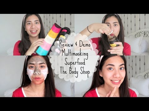 Review & Demo The Body Shop Superfood Mask - Abel Cantika