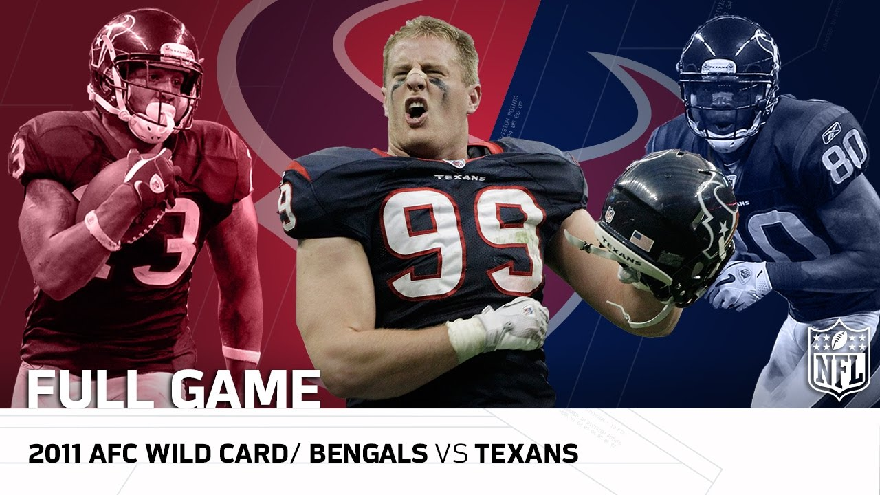 2011 AFC Wild Card: Cincinnati Bengals vs. Houston Texans | NFL Full