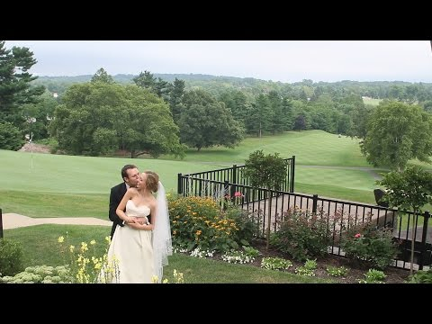 Summer Wedding at Manufacturers' Golf and Country Club