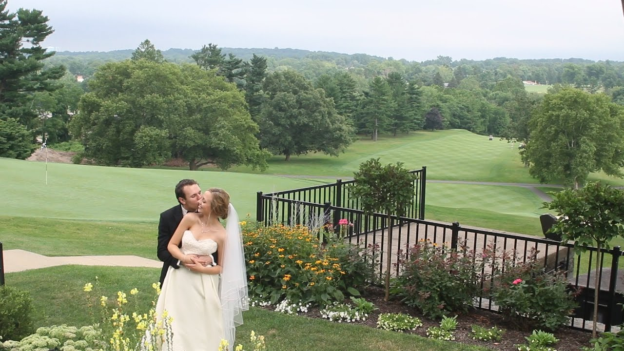 Summer Wedding At Manufacturers Golf And Country Club