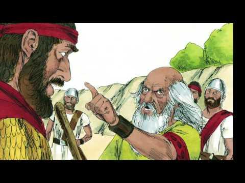 Children's Bible Story -Shimei Curses David, May 16 #2FishTalks