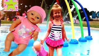 Игры с  Беби Бон Кукла Катя  Радужный Фонтан Детский Водный Парк Играем в Аквапарке Игры для девочек