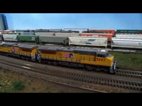 N Scale Union Pacific Railroad Geneva Sub June Weathering Update