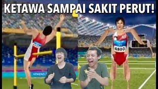 GAME JEPANG YANG ERROR LUCU BANGET!! バグリンピックを観たインドネシア人の反応は?