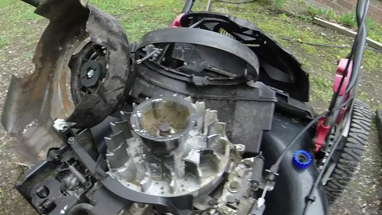 Craftsman selfpropel auto choke problem fixed & runs pretty good!  YouTube