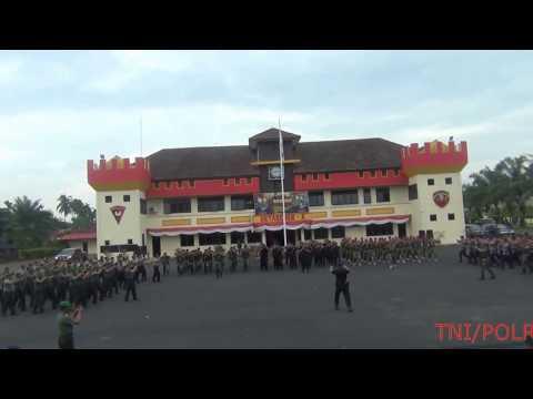 """""""BIKIN MERINDING"""" #YEL-YEL SINERGITAS TNI - POLRI JAYA"""