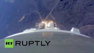 Russia: See footage of FIRST ever rocket launch from Vostochny Cosmodrome