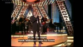 JOHNNY CASH-THE NIGHT HANK WILLIAMS CAME TO TOWN