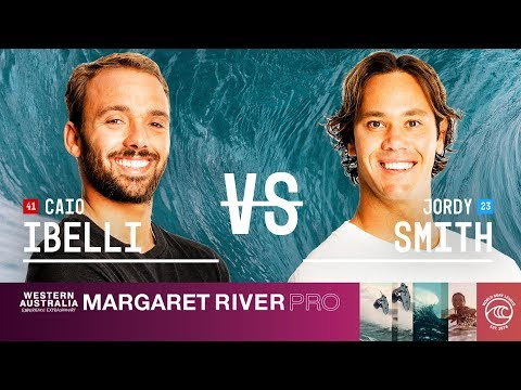 Caio Ibelli vs. Jordy Smith - Quarterfinals, Heat 2 - Margaret River Pro 2019