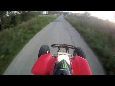 HondA TRX 250 ONE Summer day of ATV riding