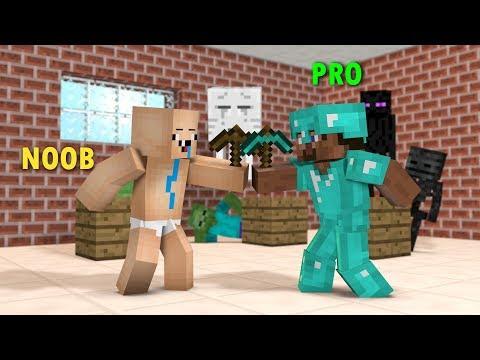 download Monster School: NOOB VS PRO CHALLENGE!! - Minecraft Animation