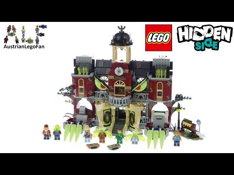 Lego Hidden Side 70425 Newbury Haunted High School Speed Build