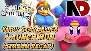 Kirby Star Allies Game Launch Race - w/ Tenkoman (NintenDaan)  - Livestream Recap