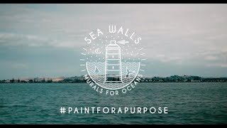 All City Canvas Live Coverage of Sea Walls: Murals for Oceans in New Zealand