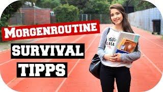 MORGENROUTINE Survival Tipps | Sanny Kaur ft. Nihan0311