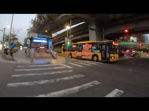 ⁴ᴷ⁶⁰ Walking Taipei, Taiwan : Taipei Main Station to Zhongzheng District (December 17, 2019)