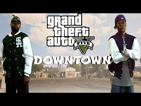 August Alsina - Downtown ft. Kidd Kidd ( GTA 5 Remake)