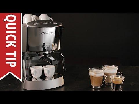 Espresso verismo t1 elektra machine