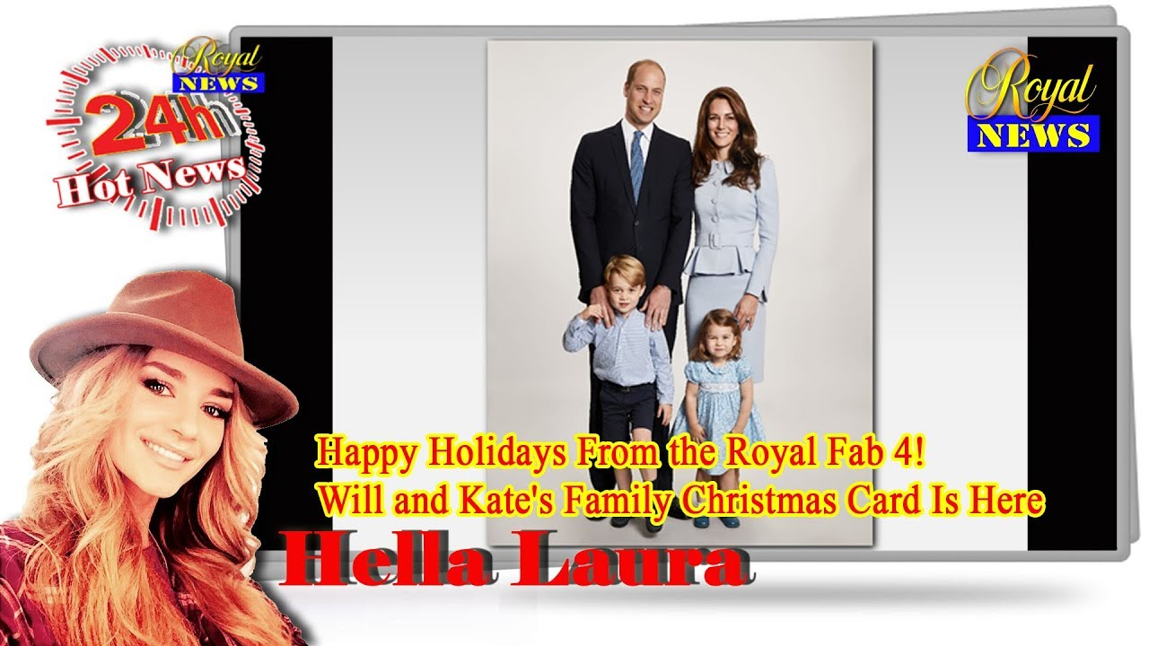newsroyal happy holidays from the royal fab 4 will and kate s