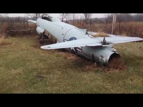 Abandoned T-33 Shooting Star