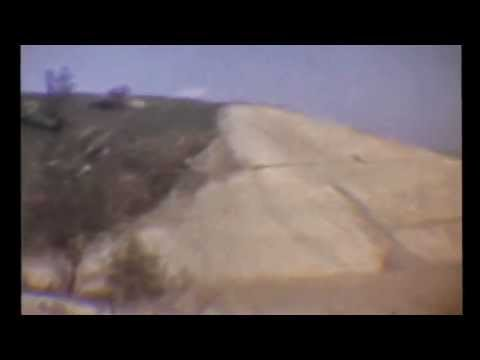 The Building of Dodger Stadium (short vid from 8mm home movie)