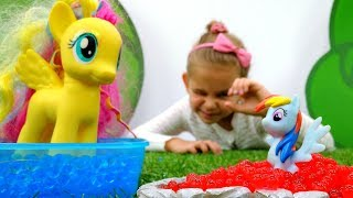 Литл Пони - играем в прятки. Игрушки Пони - Мультики для девочек