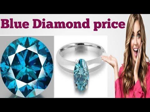 1 Carat Blue Diamond Ring Price   Blue Diamond Rate   Blue Diamond Ring Price