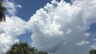 Billowing Clouds Cocoa Beach Brewing Company Beer Garden Time-Lapse