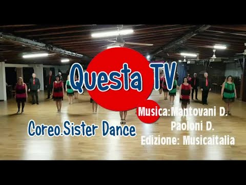 Questa TV-Fox-Musica mantova D.Paoloni D. Coreo Sister Dance