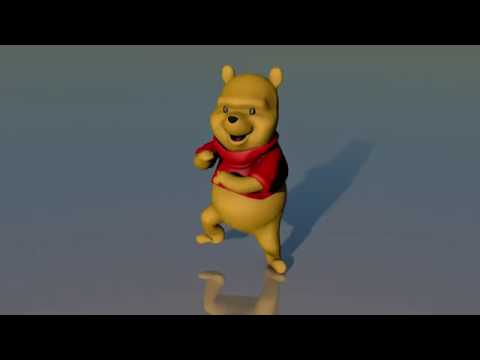 Winnie the pooh dance to pitbull - hotel room service song | short version