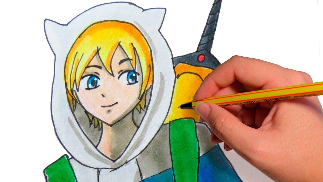 Como dibujar anime finn de hora de aventura dibuja manga paso a como dibujar anime finn de hora de aventura dibuja manga paso a paso thecheapjerseys Choice Image