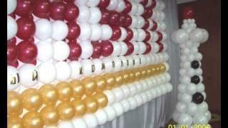 Оформление воздушными шарами в Омске ( ПАННО )(http://www.omsk-prazdnik.narod.ru ЛЮБАЯ ФАНТАЗИЯ ИЗ ВОЗДУШНЫХ ШАРОВ..., 2009-08-03T06:01:56.000Z)
