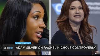Adam Silver Comments on ESPN Fallout Regarding Rachel Nichols