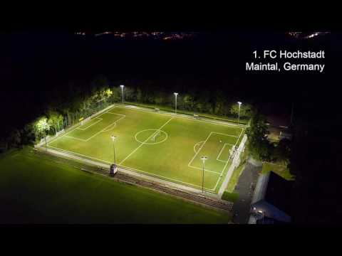 Modern Lighting Solutions for Outdoor Sports Pitches