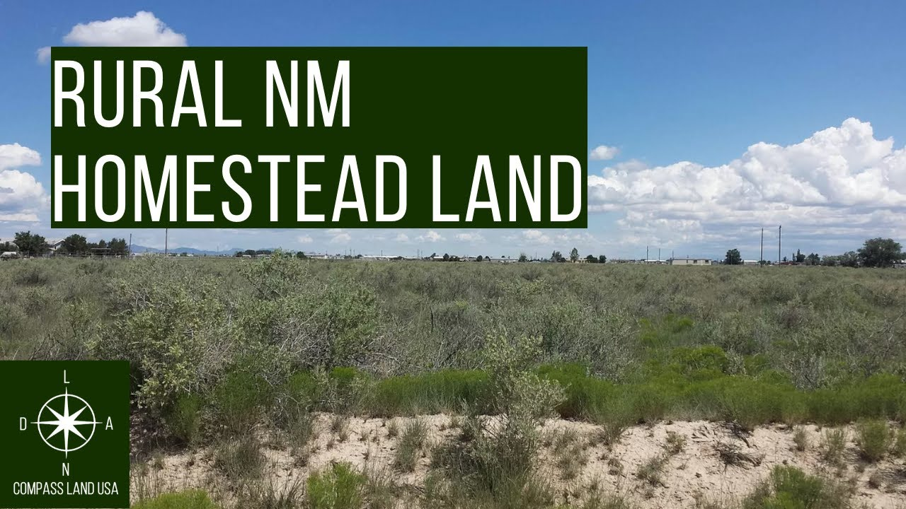 Sold by Compass Land USA - Rural 1 Acre Land with Power & Gas Less than 1 Hour from Albuquerque