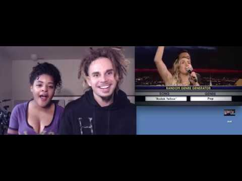 Miley Cyrus - Musical Genre Challenge with Miley Cyrus - jimmy fallon - Reaction