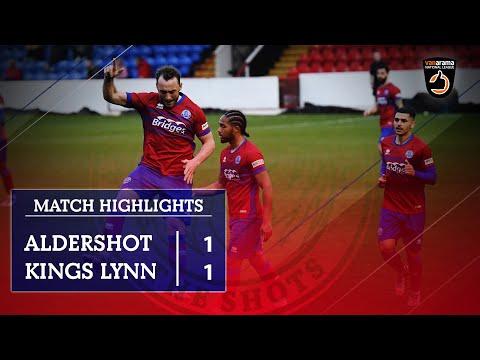 Aldershot King's Lynn Goals And Highlights