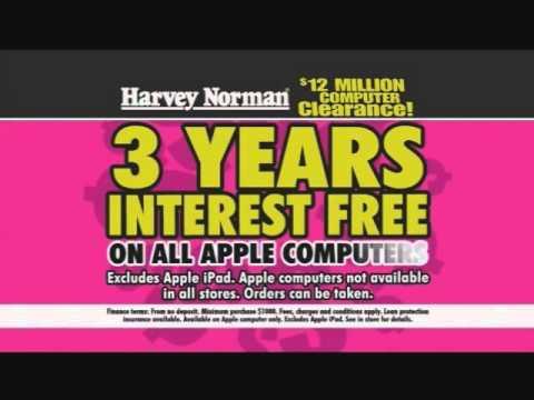Harvey Norman Loves Shouting