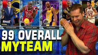 EVERY 99 MYTEAM CARD!! NOT CLICKBAIT! NBA2K16!