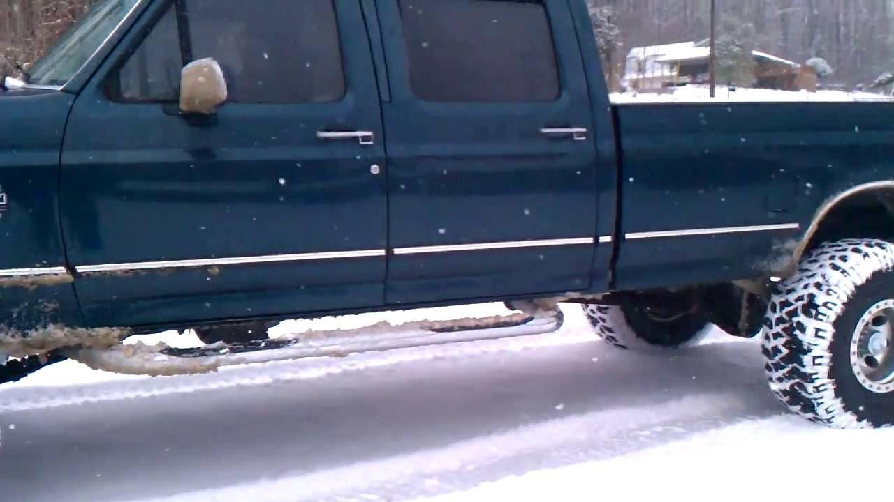 1996 Ford F350 Powerstroke 4x4 Long Bed Youtube
