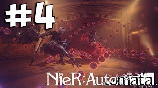 Прохождение NieR: Automata На Русском ➤ Часть 4 PS4 Pro ➤ Парк Развлечений 1080p 60ᶠᵖˢ HD ✔