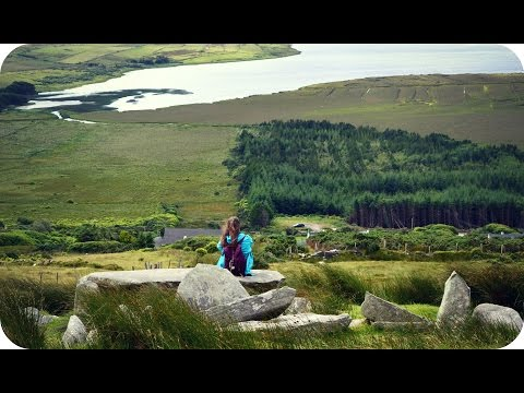 MEGALITHIC TOMBS OF ACHILL ISLANDS | Ireland (Travel Vlog 382)