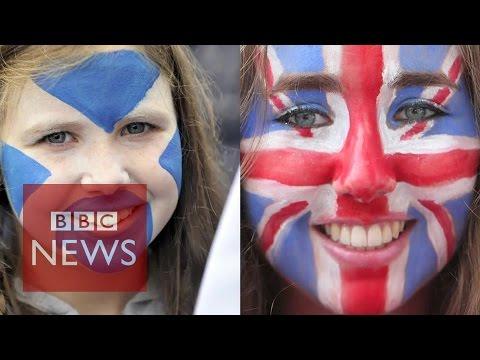 Scottish independence referendum & national identity - BBC News