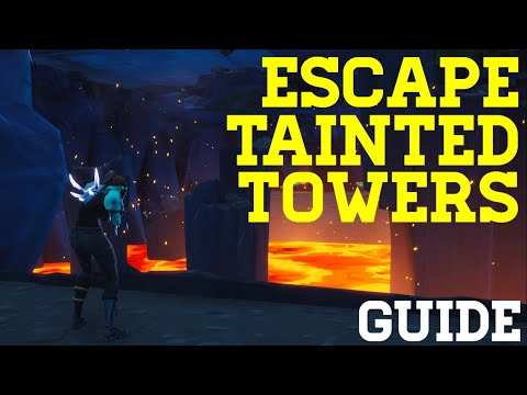 How To Complete Escape Tainted Towers By Shride - Fortnite Creative Guide