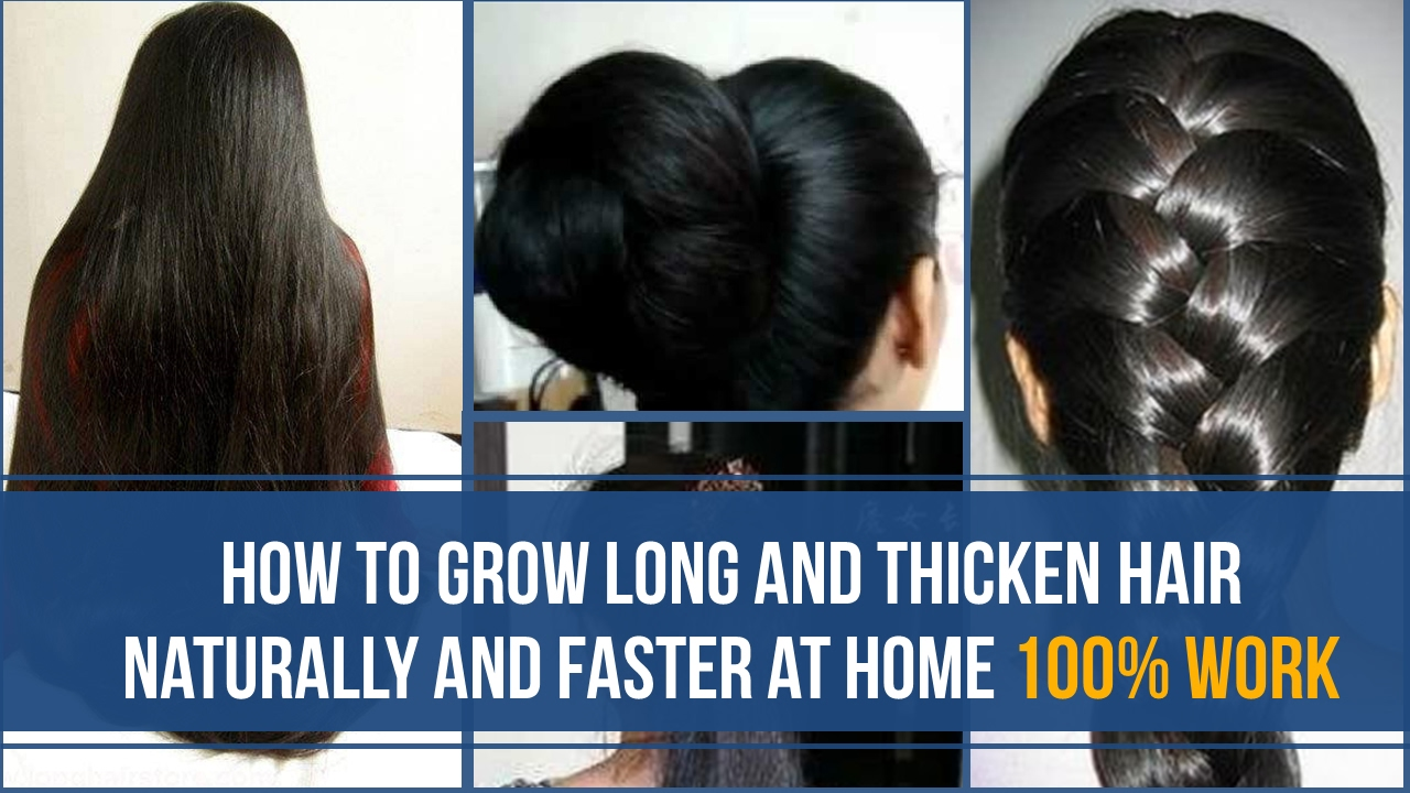 How To Get Long Hair Naturally Faster